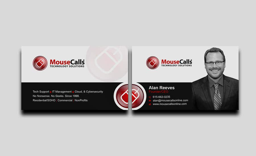 Entry #92 by mamun313 for Design some Business Cards for my IT ...
