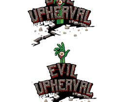 #41 untuk Evil Upheaval (Logo) oleh carluchoo