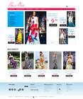 Graphic Design Конкурсная работа №1 для Website Design for Dresses Fashion Site