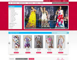 sanjay2004 tarafından Website Design for Dresses Fashion Site için no 34