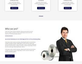 #5 for Design a Website layout for an innovative technology company by webmastersud
