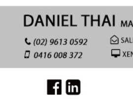 abinandhabi tarafından HTML Email Signature için no 7