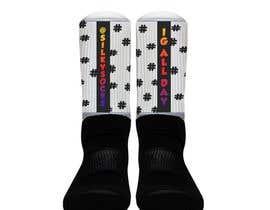Nro 15 kilpailuun Silky Socks Design Contest - Instagram Sock Design käyttäjältä jcollins0203