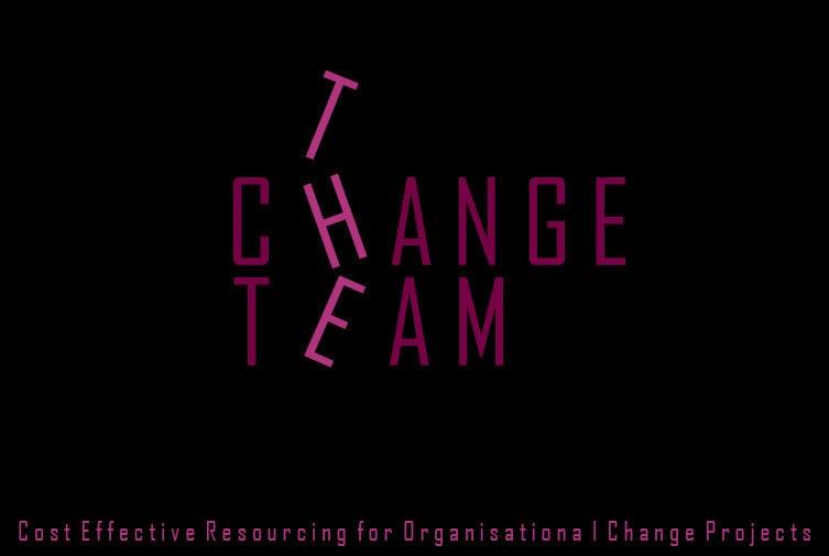 Proposition n°                                        27                                      du concours                                         Design a Logo for 'The Change Team'