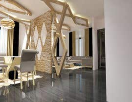 #33 for Interior/Exterior Design of existing Floor plan by abdomostafa2008