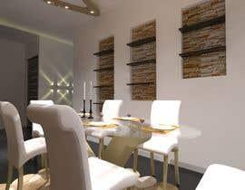 #35 for Interior/Exterior Design of existing Floor plan by abdomostafa2008