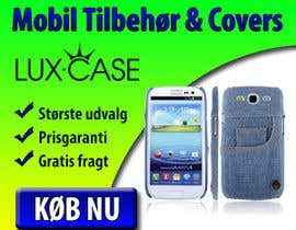 #79 untuk Banner Ad Design for Online shop selling mobile phone accessories oleh superbanner