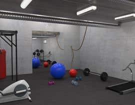 mdigitally tarafından 3D-Modelling a hobby cellar gym for product promotion için no 16