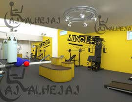 AjAlhejaj tarafından 3D-Modelling a hobby cellar gym for product promotion için no 3