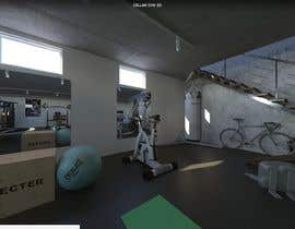 khaledbouhedadj4 tarafından 3D-Modelling a hobby cellar gym for product promotion için no 7