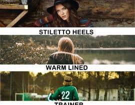 #16 untuk Find and adjust inspirational shoe type images oleh khemban