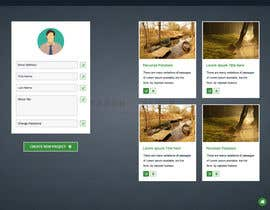 #13 untuk Need responsive web design for a user profile page and card design. oleh gravitygraphics7