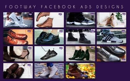 Imagem de                            Create 15 shoe advertisment imag...