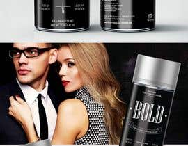 #69 cho Design a Hair Product Label that is Clean, portrays Confidence, and is BOLD bởi freerix