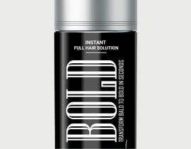 #79 cho Design a Hair Product Label that is Clean, portrays Confidence, and is BOLD bởi freerix