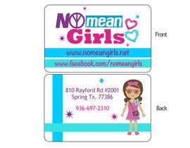 #3 for Design some Business Cards for No Mean Girls by j203