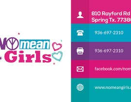 #10 for Design some Business Cards for No Mean Girls by shahirnana