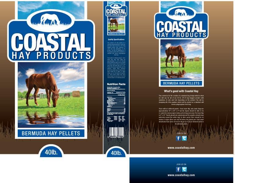 Bài tham dự cuộc thi #26 cho Print & Packaging Design for Coastal Hay Products, Inc.