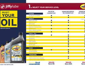 nº 17 pour Brochure Design for My Jiffy Lube par skurt
