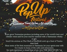 #12 for Poster - Pop Up Festival of Music, Food and Art by Medelazery