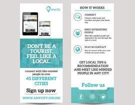 Nro 13 kilpailuun Design a Flyer for a travel startup käyttäjältä Nirmolaroy