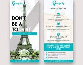 Nro 14 kilpailuun Design a Flyer for a travel startup käyttäjältä usamawajeeh123