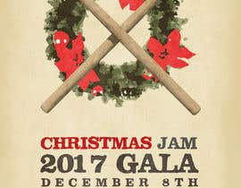 #12 for Gig Poster for Christmas Rock Concert by jha2550