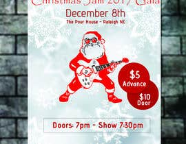 #4 for Gig Poster for Christmas Rock Concert by Mhasan626297