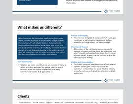 #4 สำหรับ Design a Brochure - company profile โดย Nirmolaroy