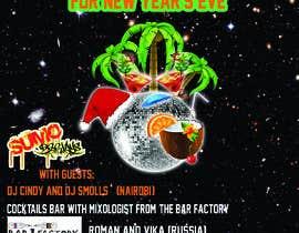 Nro 22 kilpailuun New year's eve party poster! käyttäjältä tatyana08