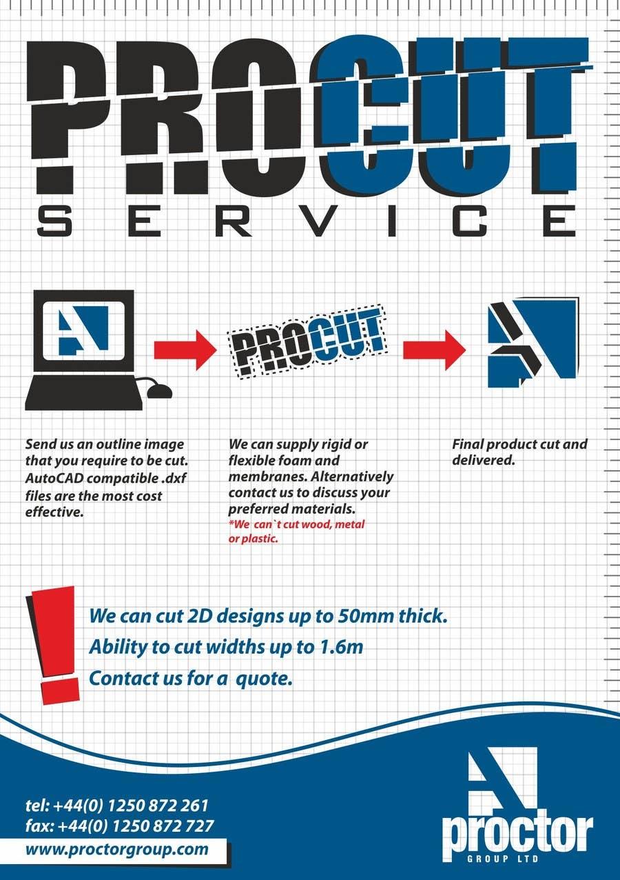Конкурсная заявка №98 для Advertisement Design for A. Proctor Group Ltd