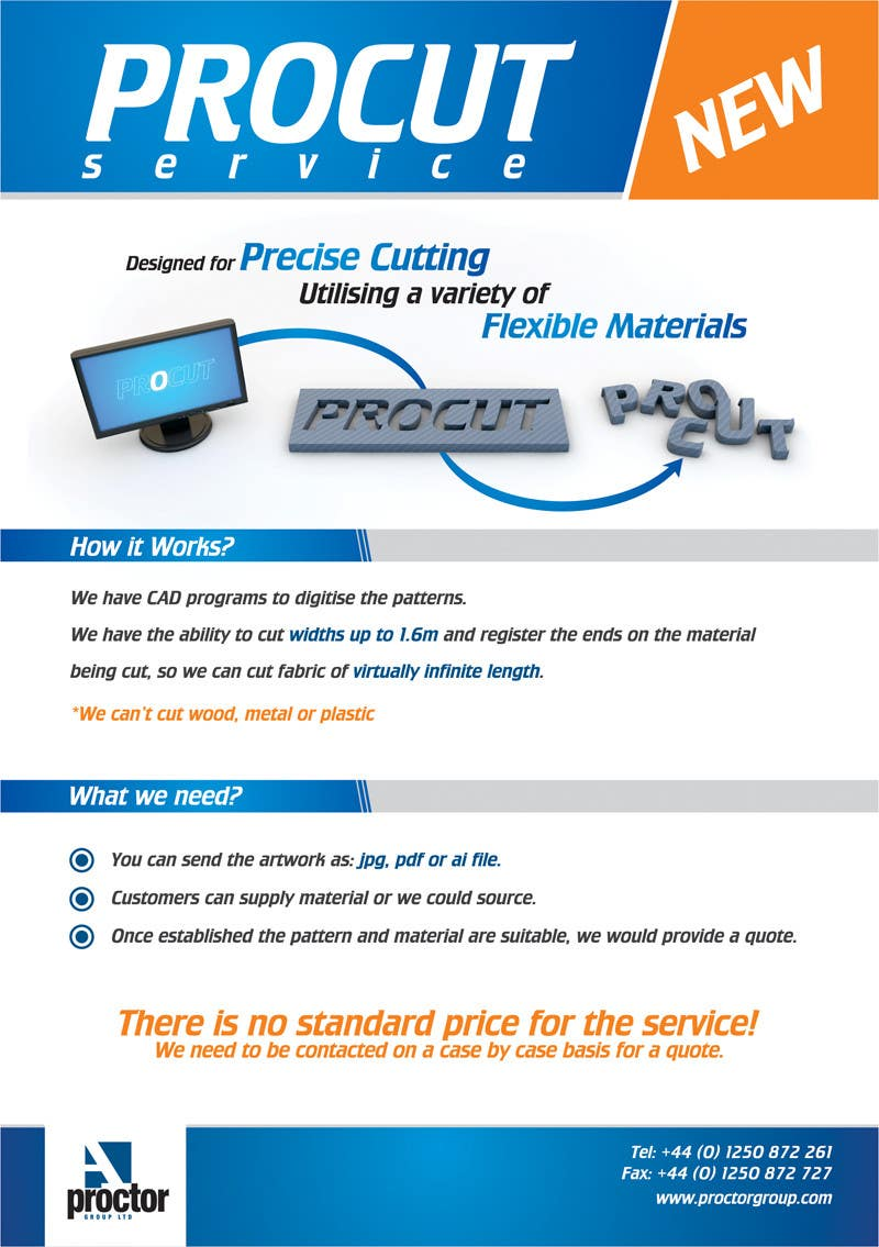 #113 for Advertisement Design for A. Proctor Group Ltd by whizzdesign