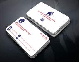 aouladhossain tarafından Logo / business card for a remodeling company called American Home Solutions - Use American Flag Colors için no 72
