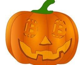 #5 para Design a Cool Bitcoin Pumpkin Stencil por wanilala