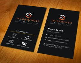 #11 for Need Custom Business cards Designed for Sports Business af safiqul2006
