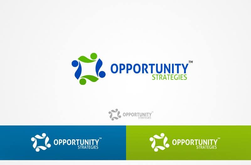 Kilpailutyö #591 kilpailussa Logo Design for Opportunity Strategies