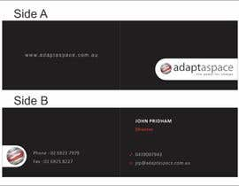 #4 pentru Business Card for adaptaspace de către jimapp