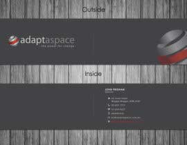 #8 untuk Business Card for adaptaspace oleh qoaldjsk