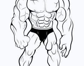 #39 for Illustrate a Strong Bodybuilder Monster by faheemul