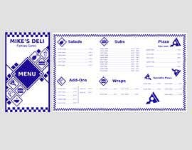 #10 for Design a Tri-Fold/Digital Menu for Deli by fb57e109df3f33a