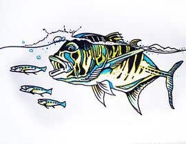 #12 for illustrate graphic fishing by artist4