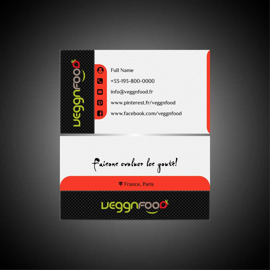 Entry #4 by iyakubchyk for Business card (recto / verso) to be done ...