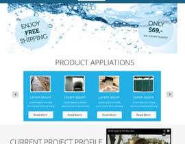 #6 cho Design a Website Mockup for Ecologic Water Cleaning Company bởi omwebdeveloper
