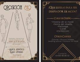 #32 para Flyer Diseño de Moda y Arte de Gladgonzalez