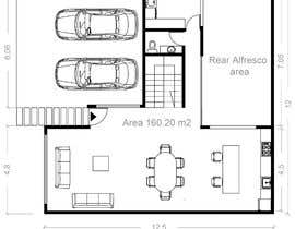 #41 for Architecture Design Floor Plan - Modern 2 Storey Home af hoartlly