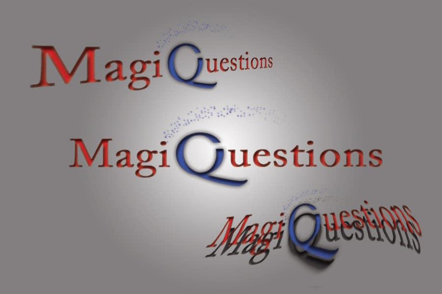 Конкурсная заявка №246 для Logo Design for MagiQuestions Consulting