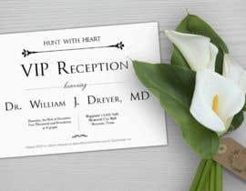 Nro 27 kilpailuun VIP reception Invitation käyttäjältä marianayepez