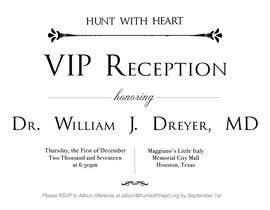 Nro 20 kilpailuun VIP reception Invitation käyttäjältä AbidAliSayyed