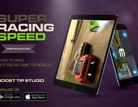 #11 for Design a graphic design advertisement of any ONE of my game iphone/android apps! by adham2020