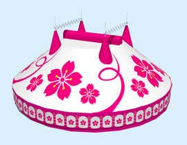 #51 for DESIGN FOR SAKURA CIRCUS TENT by WolfCubDesigns
